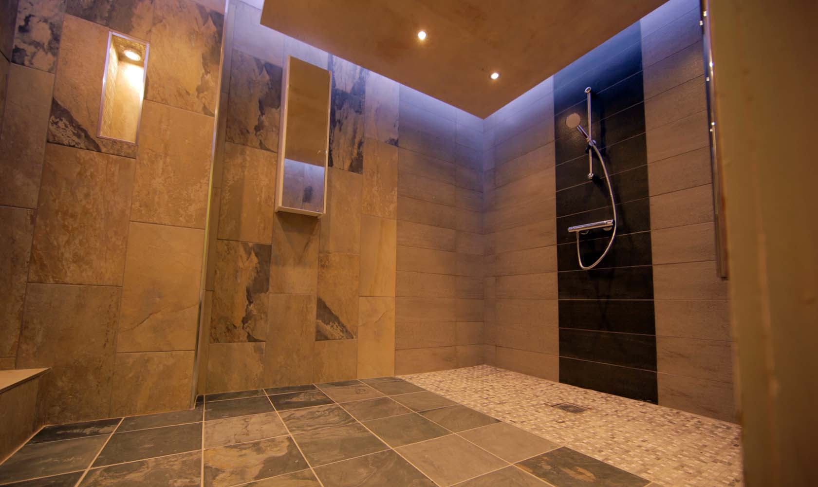 Flixton manor shower room for What s a wet room