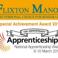 Special Achievement at The Apprenticeship Award