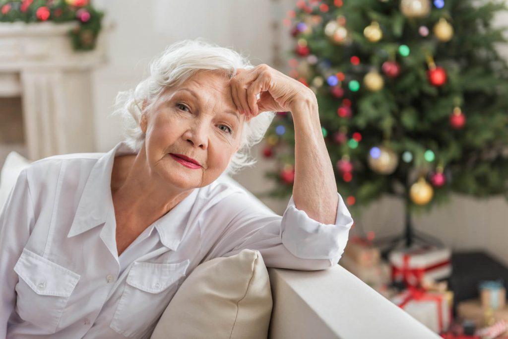 Trafford nursing home Christmas